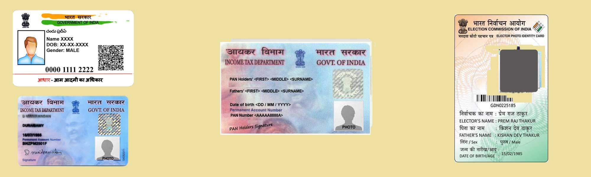 Plastic/PVC Card Printed Services